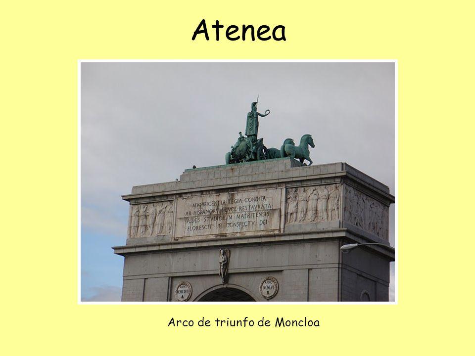 Atenea Arco de triunfo de Moncloa