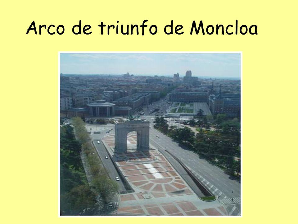 Arco de triunfo de Moncloa