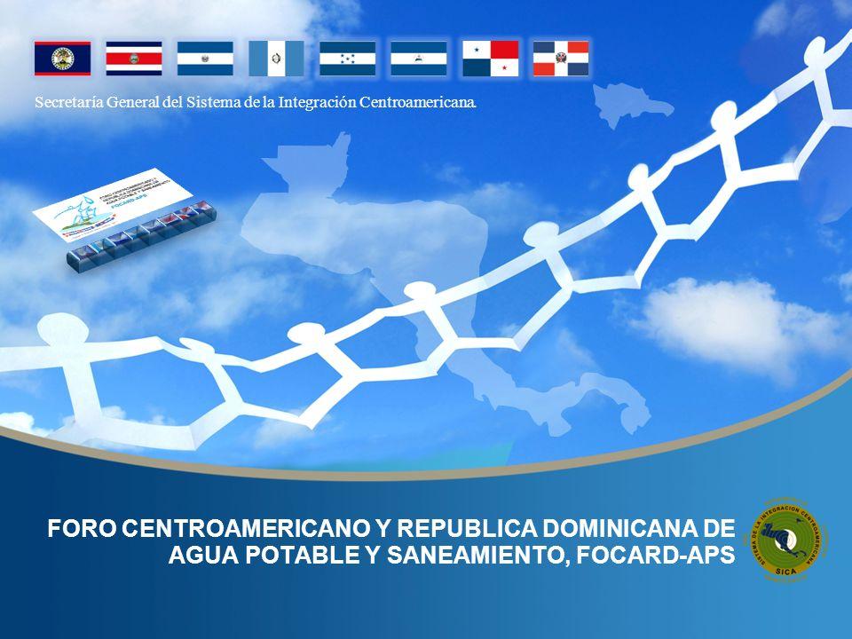 Secretaría General del Sistema de la Integración Centroamericana.