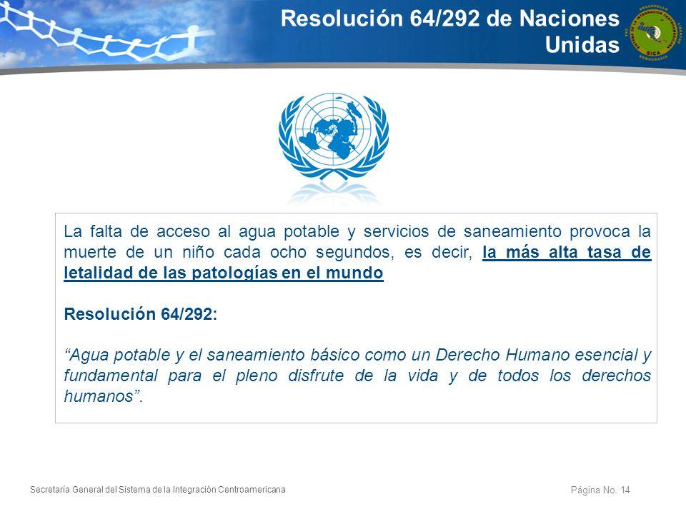 Resolución 64/292 de Naciones Unidas