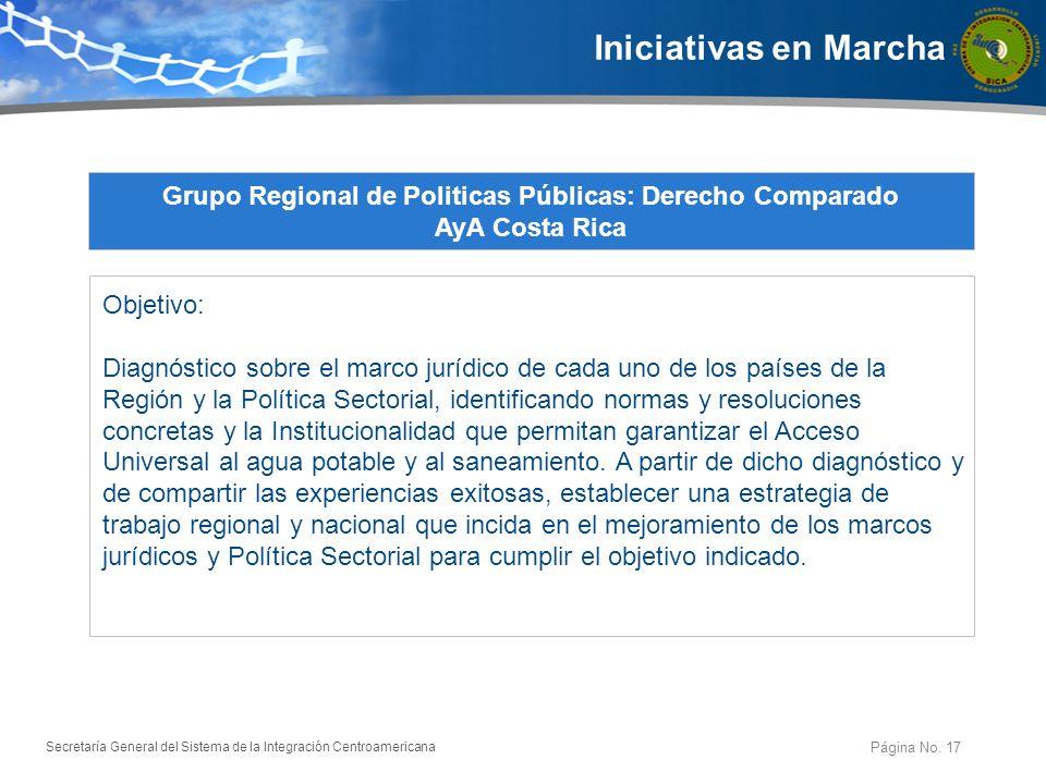 Grupo Regional de Politicas Públicas: Derecho Comparado