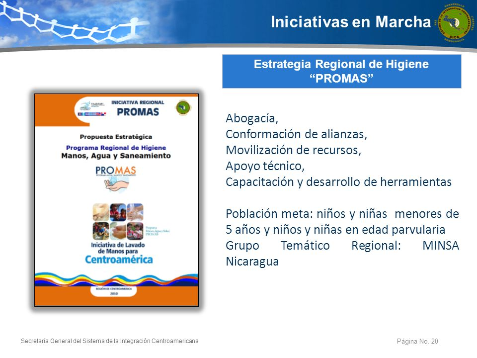 Estrategia Regional de Higiene