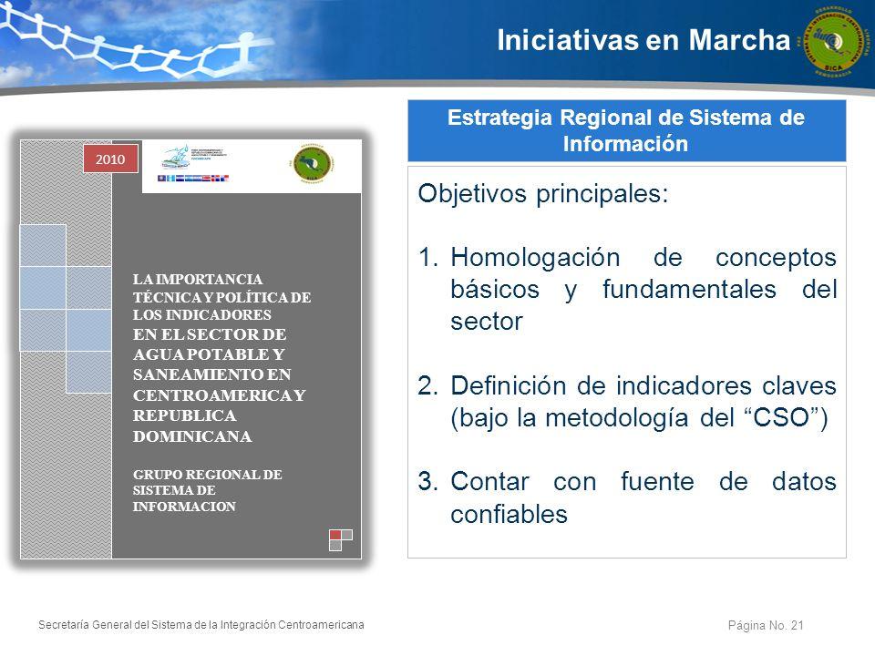 Estrategia Regional de Sistema de Información
