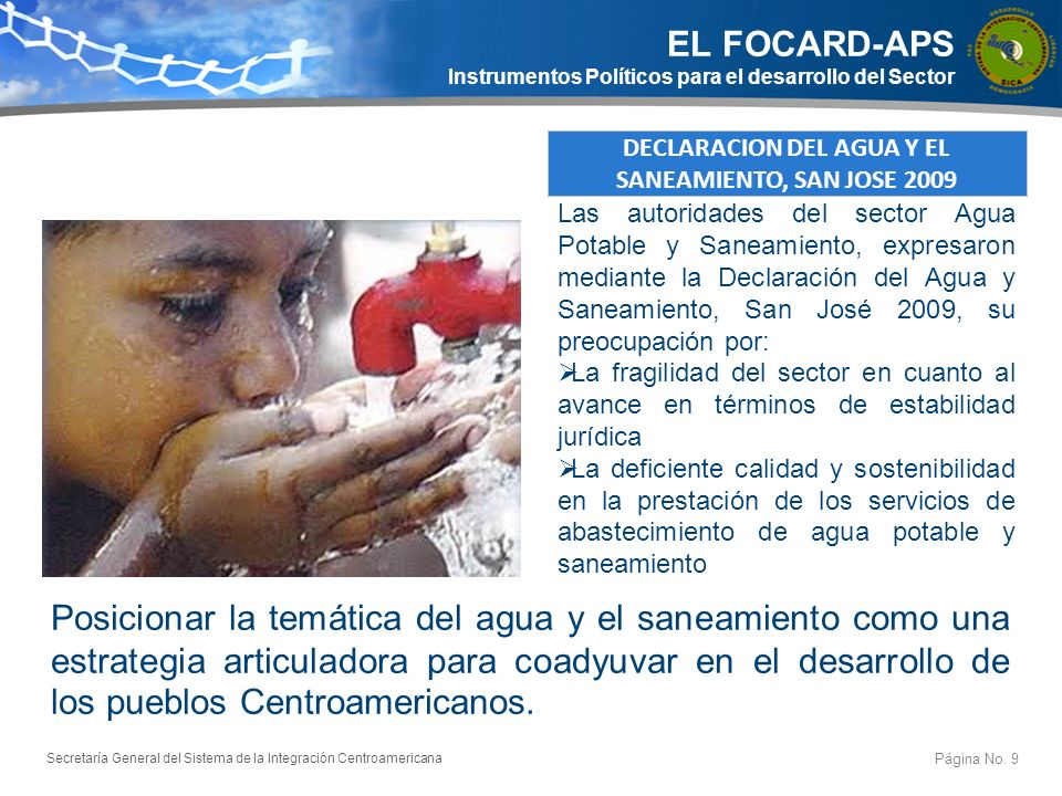 EL FOCARD-APS Instrumentos Políticos para el desarrollo del Sector