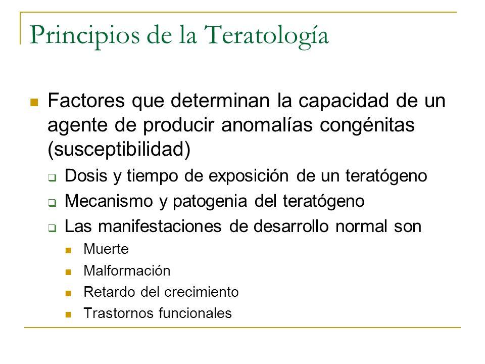 Principios de la Teratología