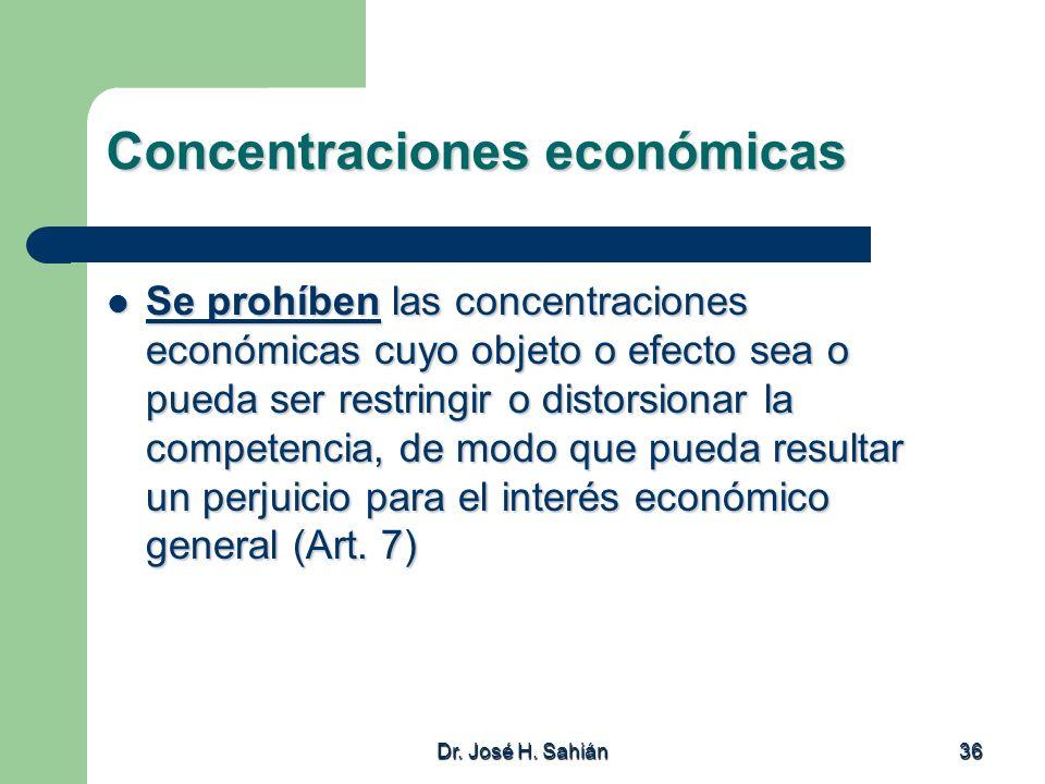 Concentraciones económicas