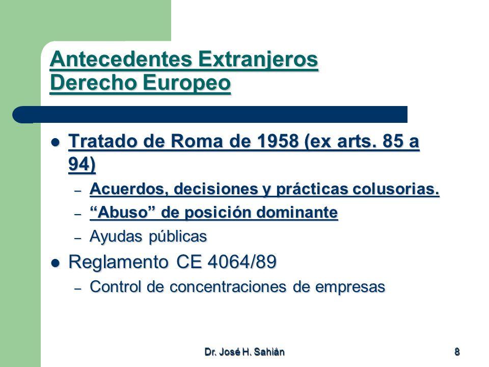 Antecedentes Extranjeros Derecho Europeo