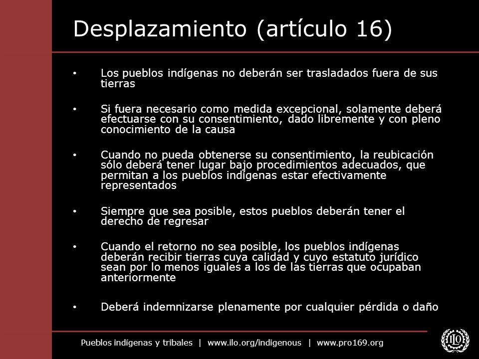 Desplazamiento (artículo 16)