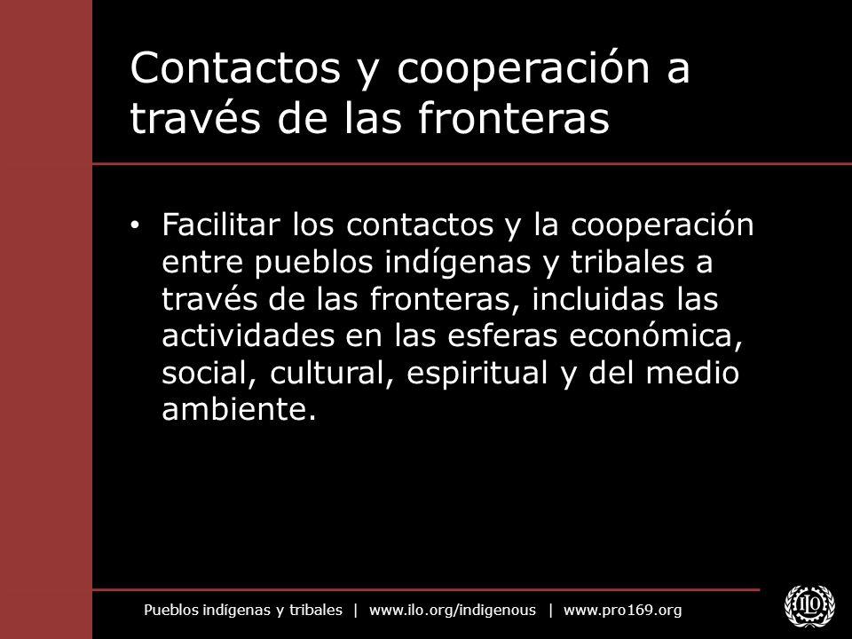 Contactos y cooperación a través de las fronteras