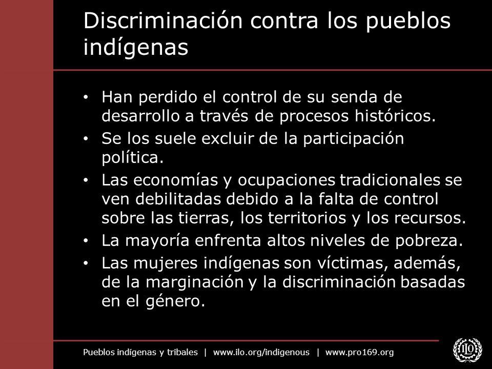 Discriminación contra los pueblos indígenas