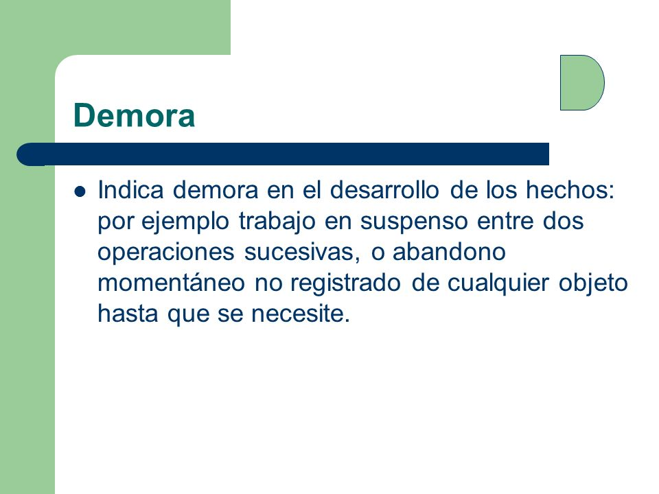 Demora