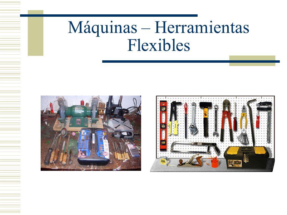 Máquinas – Herramientas Flexibles