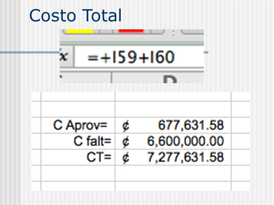 Costo Total