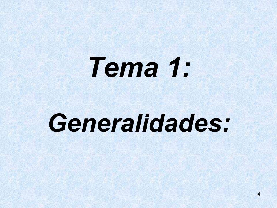 Tema 1: Generalidades: 4