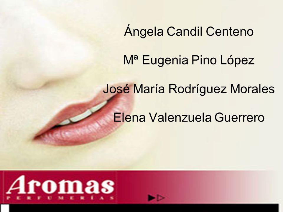 Ángela Candil Centeno Mª Eugenia Pino López José María Rodríguez Morales Elena Valenzuela Guerrero