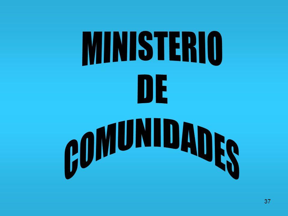 MINISTERIO DE COMUNIDADES 37
