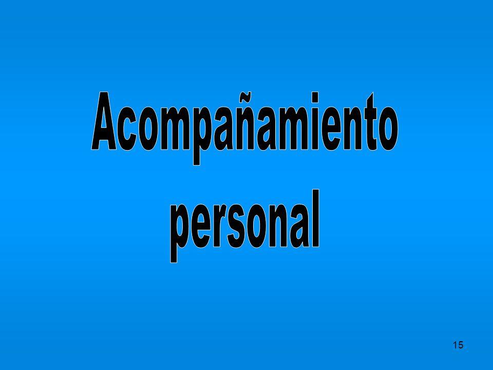 Acompañamiento personal