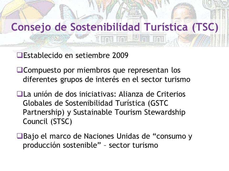 Consejo de Sostenibilidad Turística (TSC)