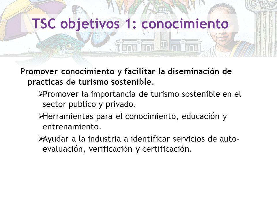 TSC objetivos 1: conocimiento