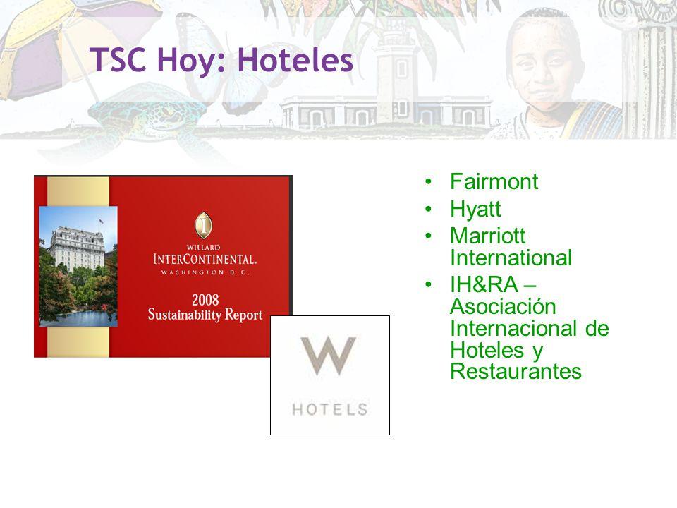 TSC Hoy: Hoteles Fairmont Hyatt Marriott International