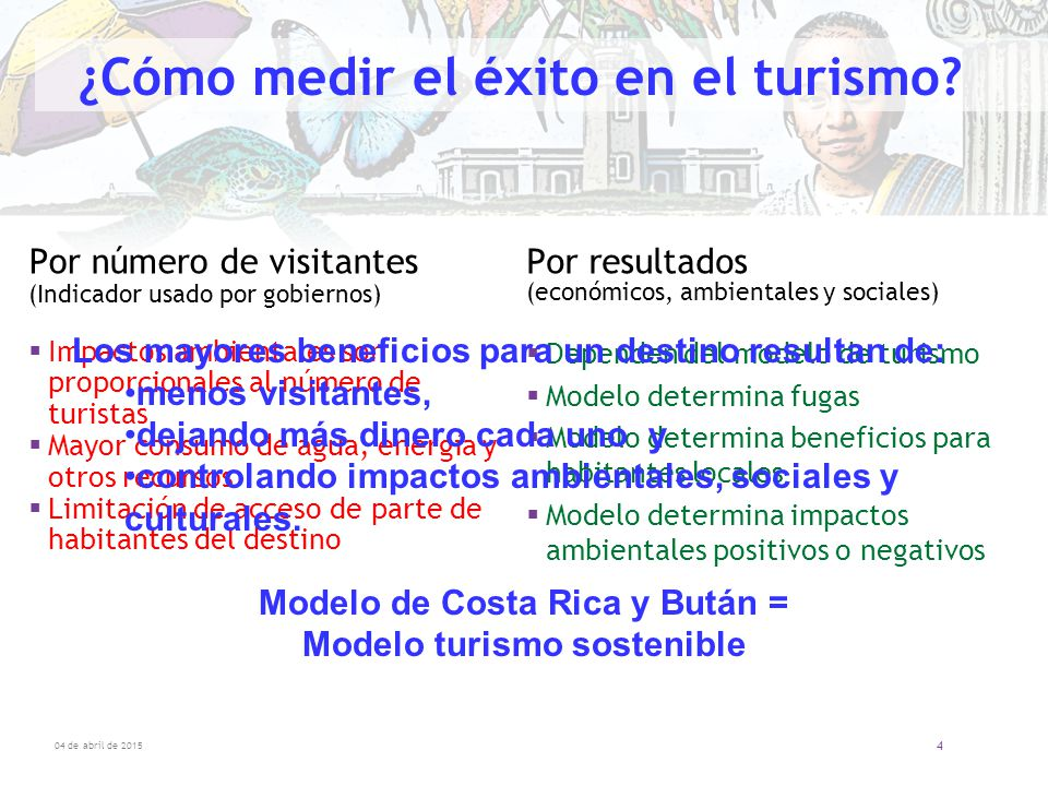 ¿Cómo medir el éxito en el turismo