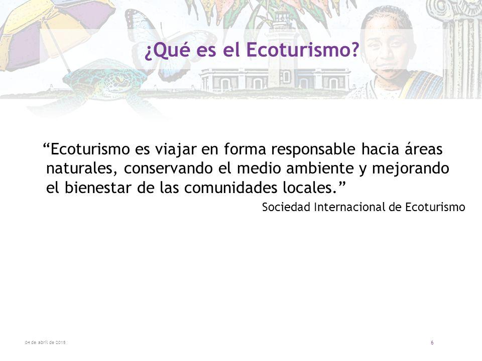 ¿Qué es el Ecoturismo