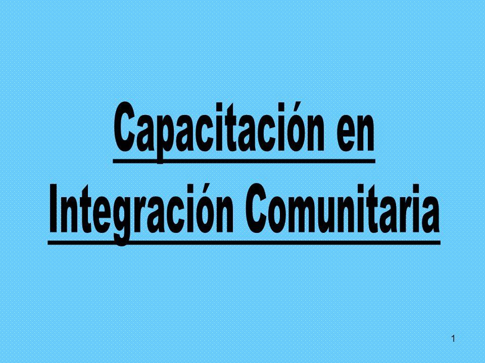 Integración Comunitaria