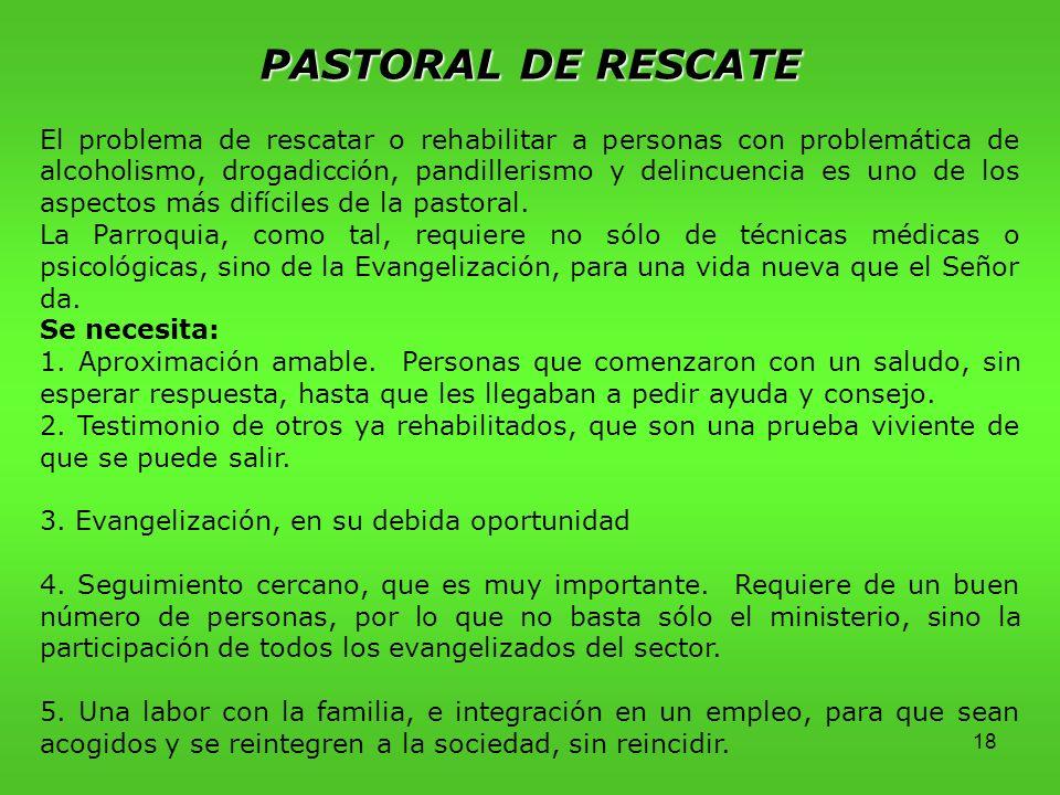 PASTORAL DE RESCATE