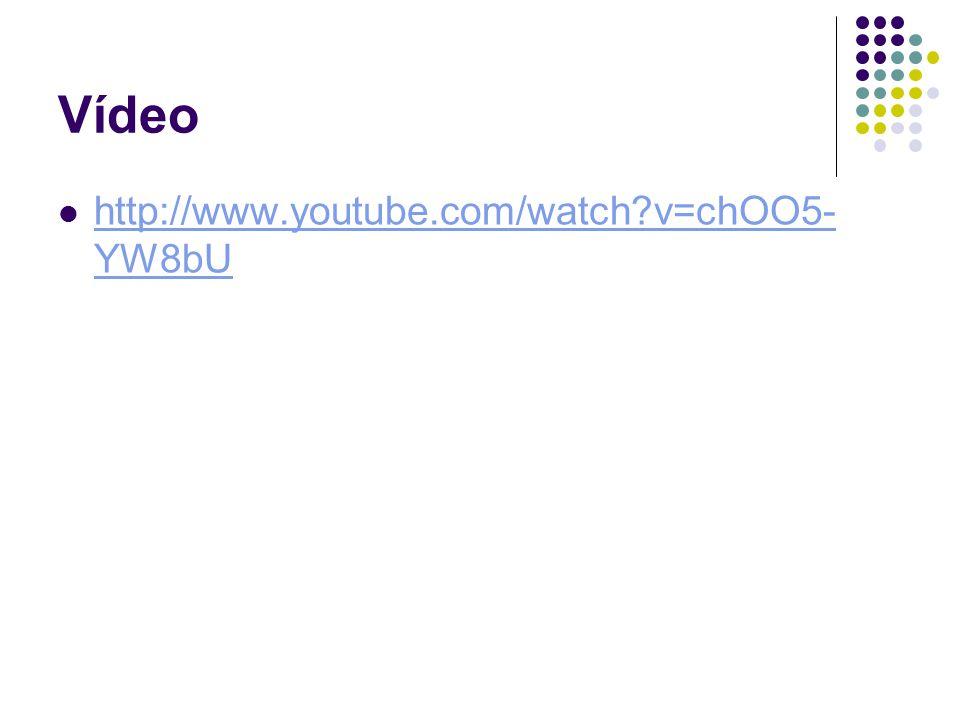 Vídeo http://www.youtube.com/watch v=chOO5-YW8bU