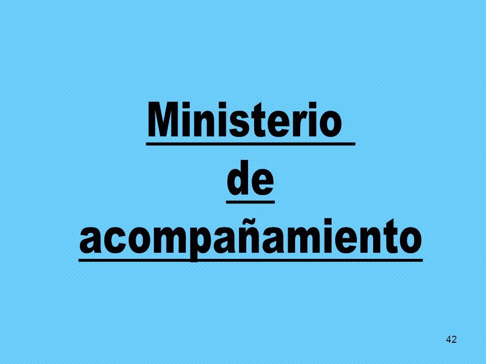 Ministerio de acompañamiento