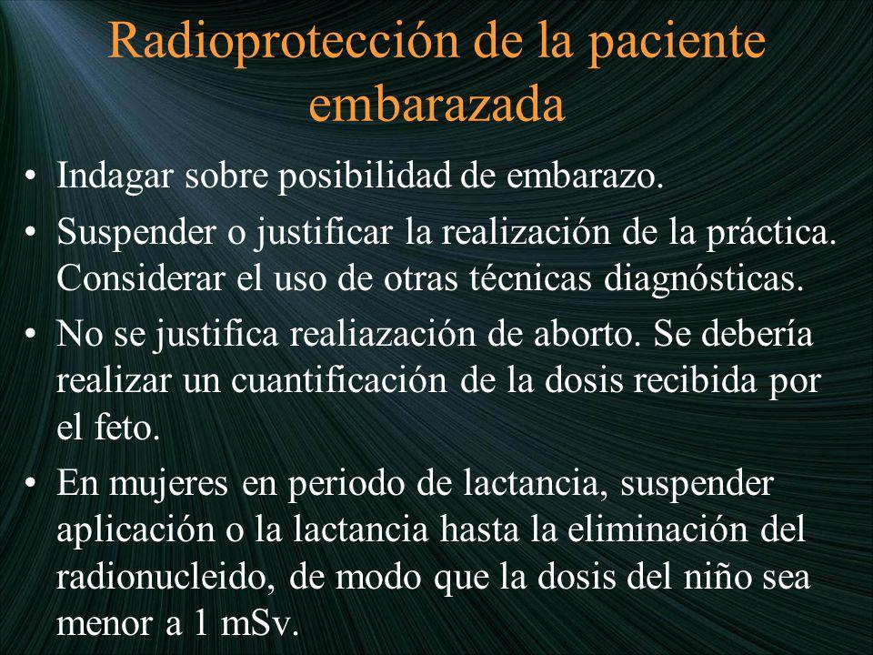 Radioprotección de la paciente embarazada