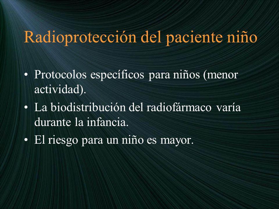 Radioprotección del paciente niño