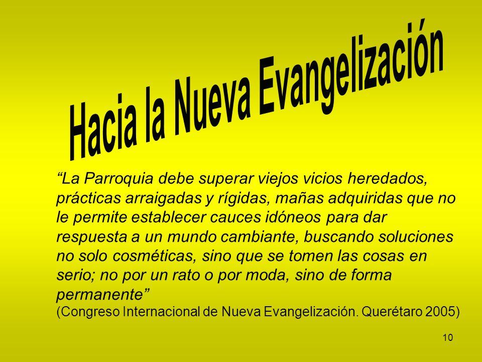 Hacia la Nueva Evangelización