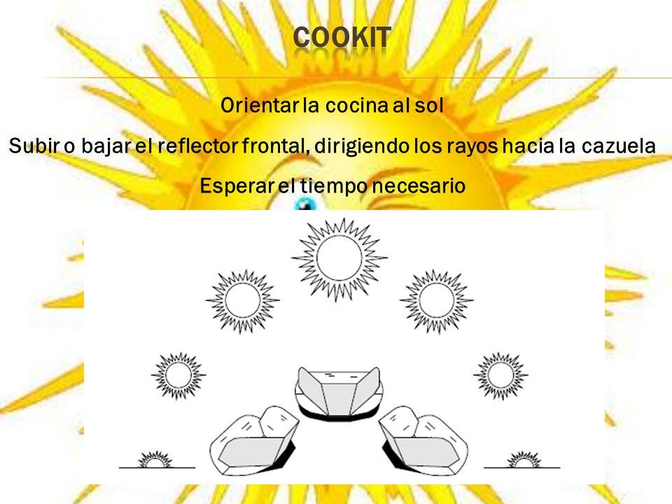 Orientar la cocina al sol Esperar el tiempo necesario