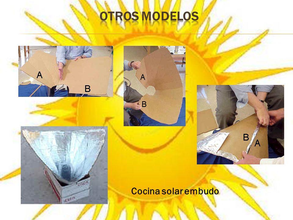OTROS MODELOS Cocina solar embudo