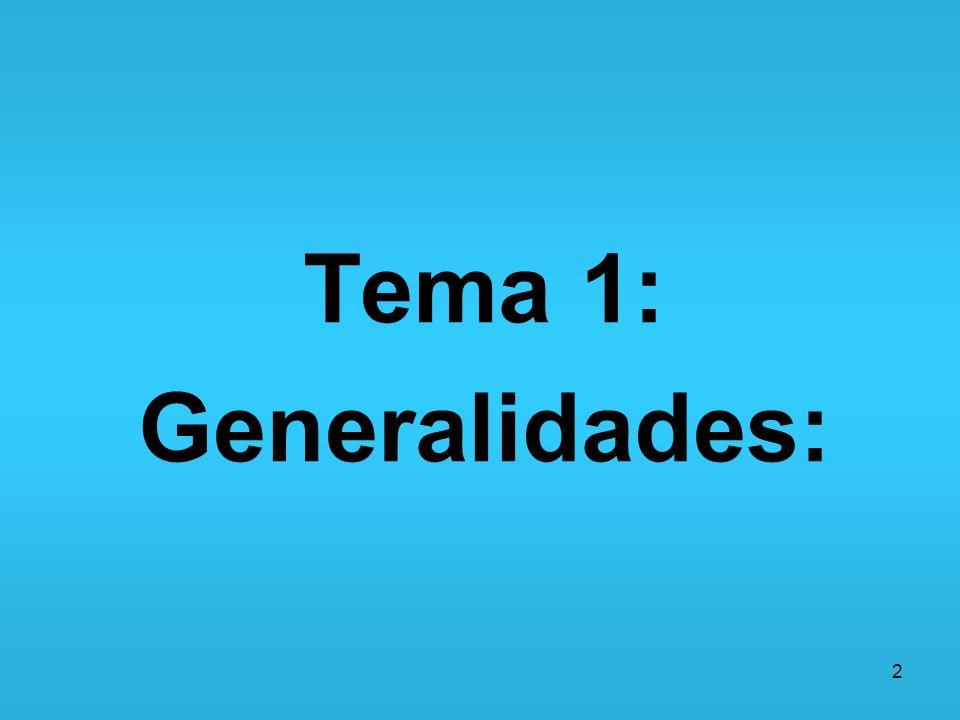 Tema 1: Generalidades: 2