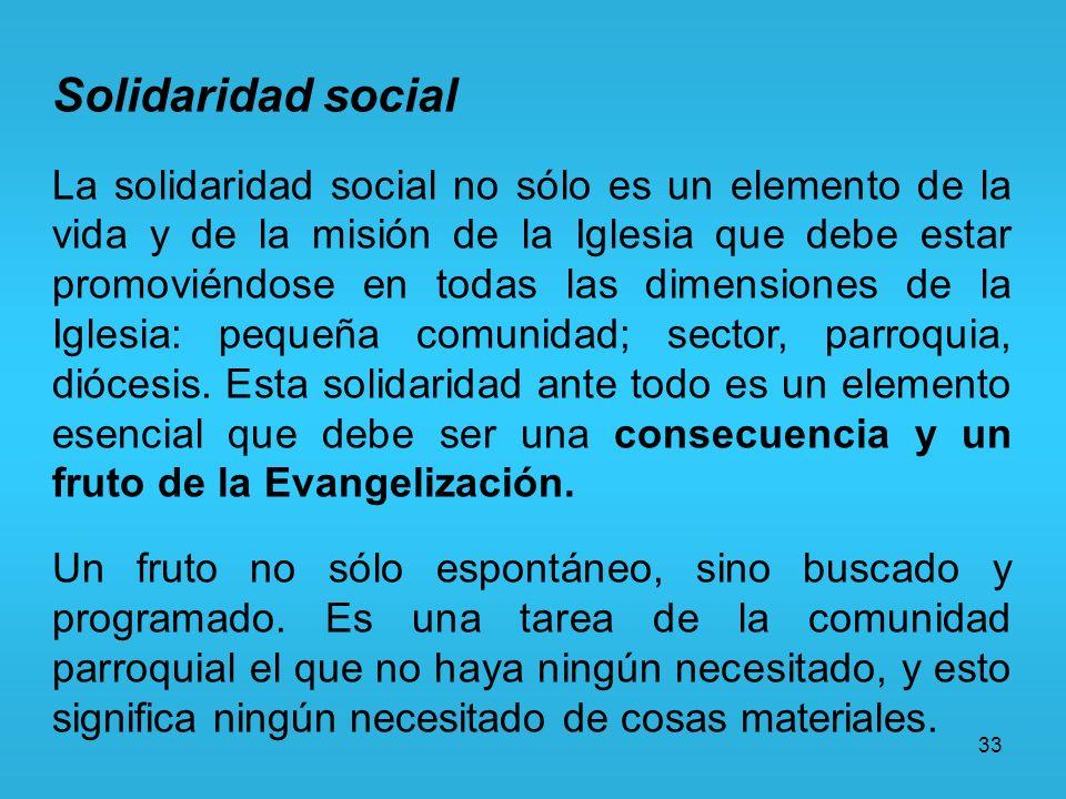 Solidaridad social