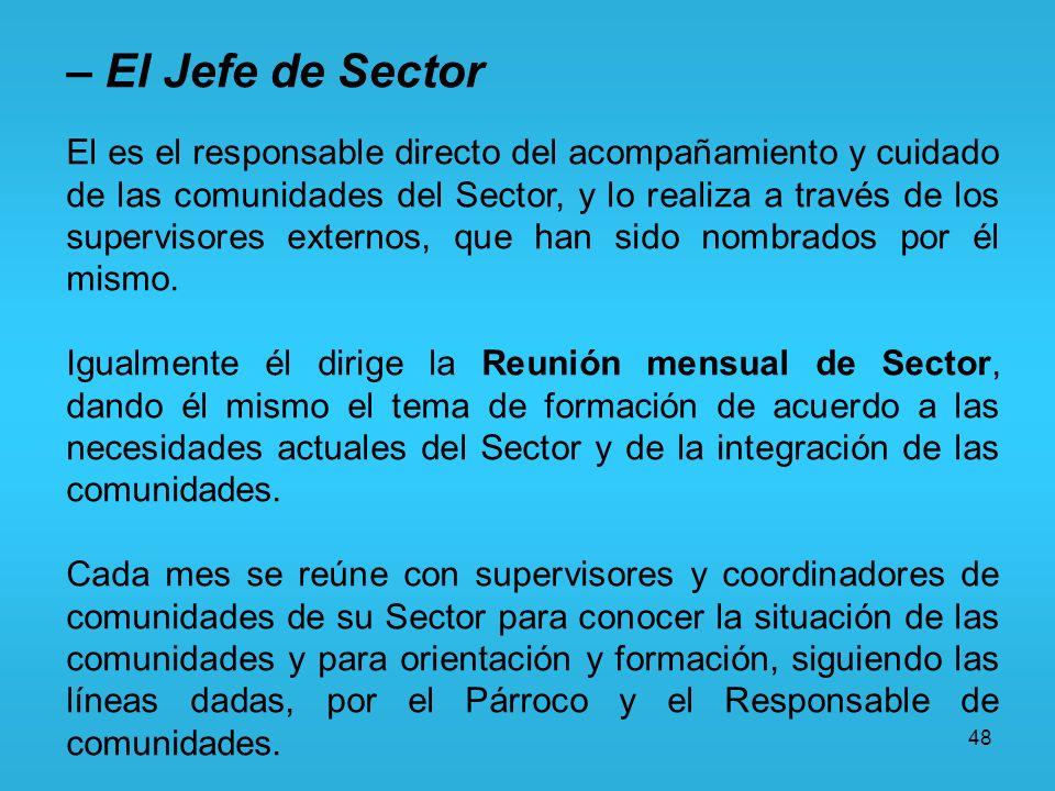 – El Jefe de Sector