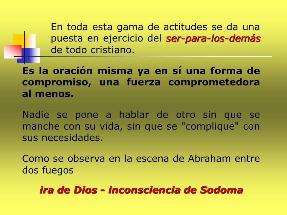 ira de Dios - inconsciencia de Sodoma