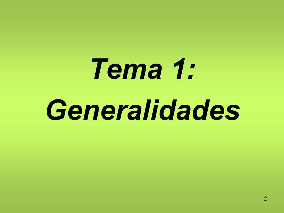 Tema 1: Generalidades 2