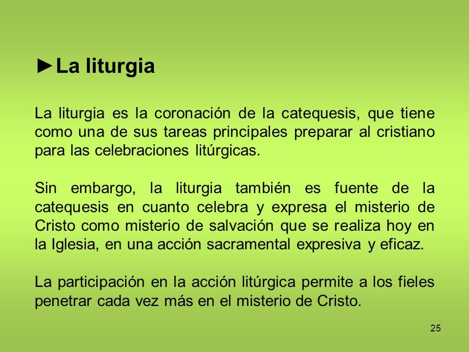 ►La liturgia