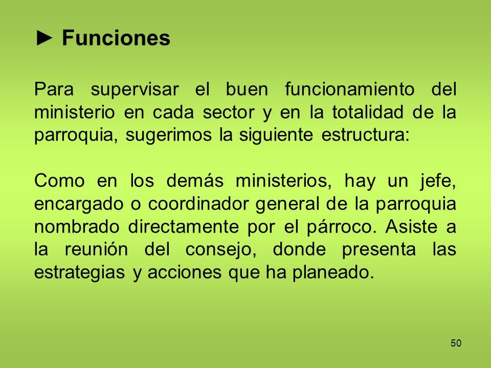 ► Funciones