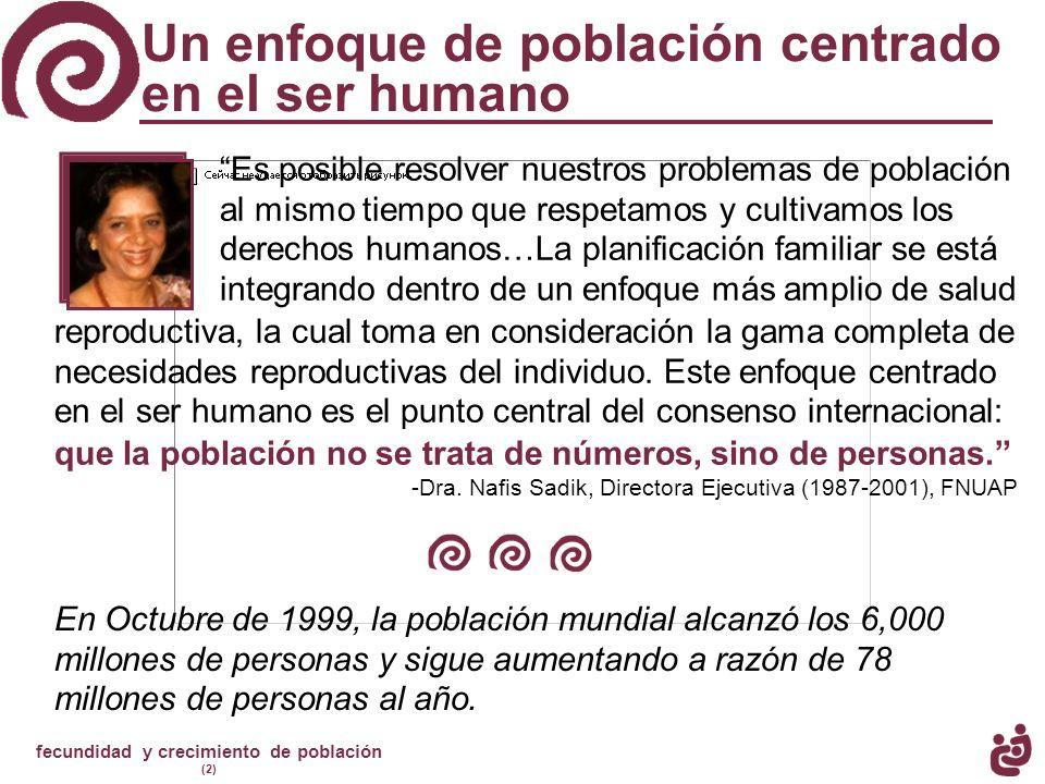 Un enfoque de población centrado en el ser humano