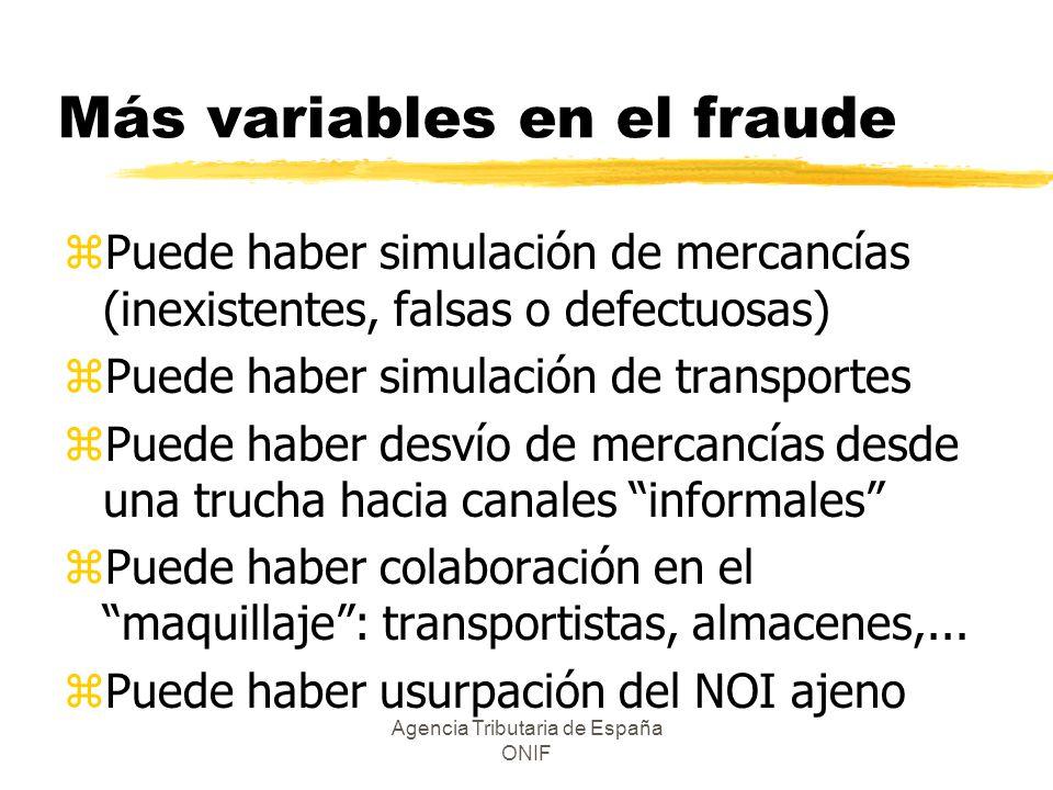 Más variables en el fraude