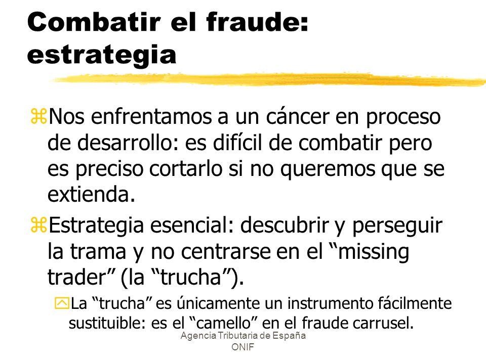 Combatir el fraude: estrategia