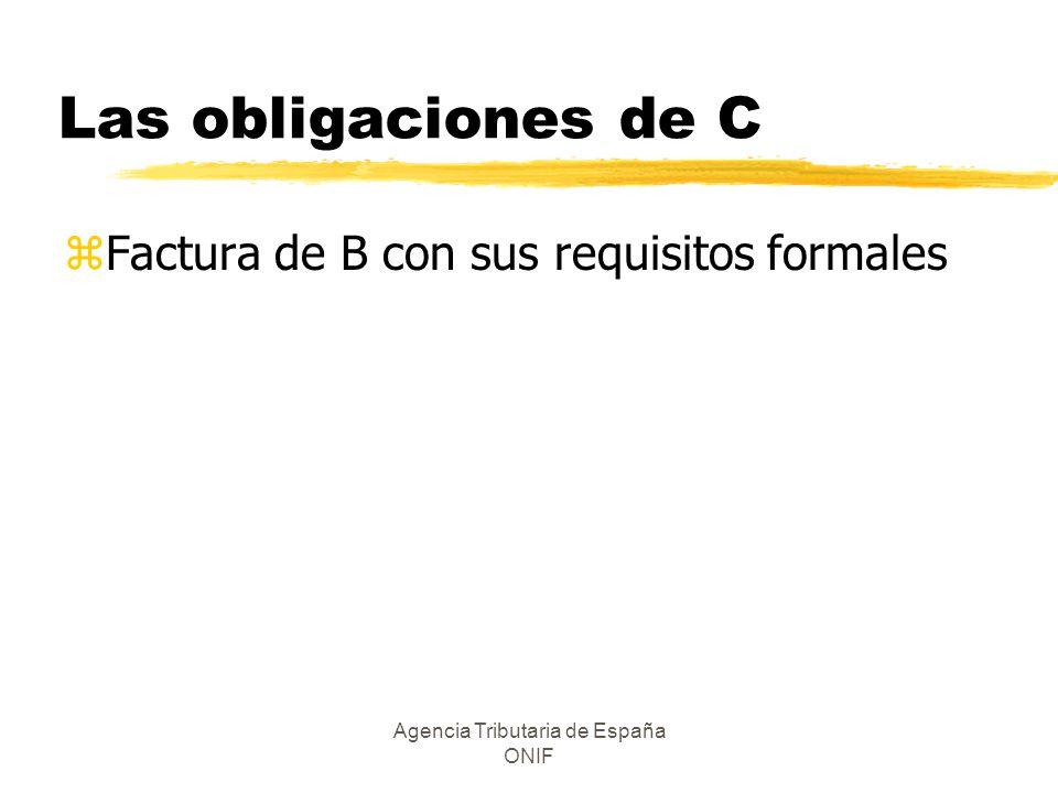 Agencia Tributaria de España ONIF