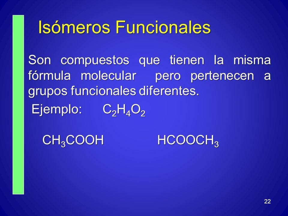 Isómeros Funcionales