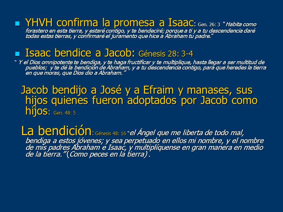 Isaac bendice a Jacob: Génesis 28: 3-4