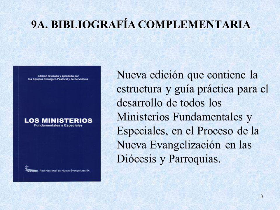 9A. BIBLIOGRAFÍA COMPLEMENTARIA