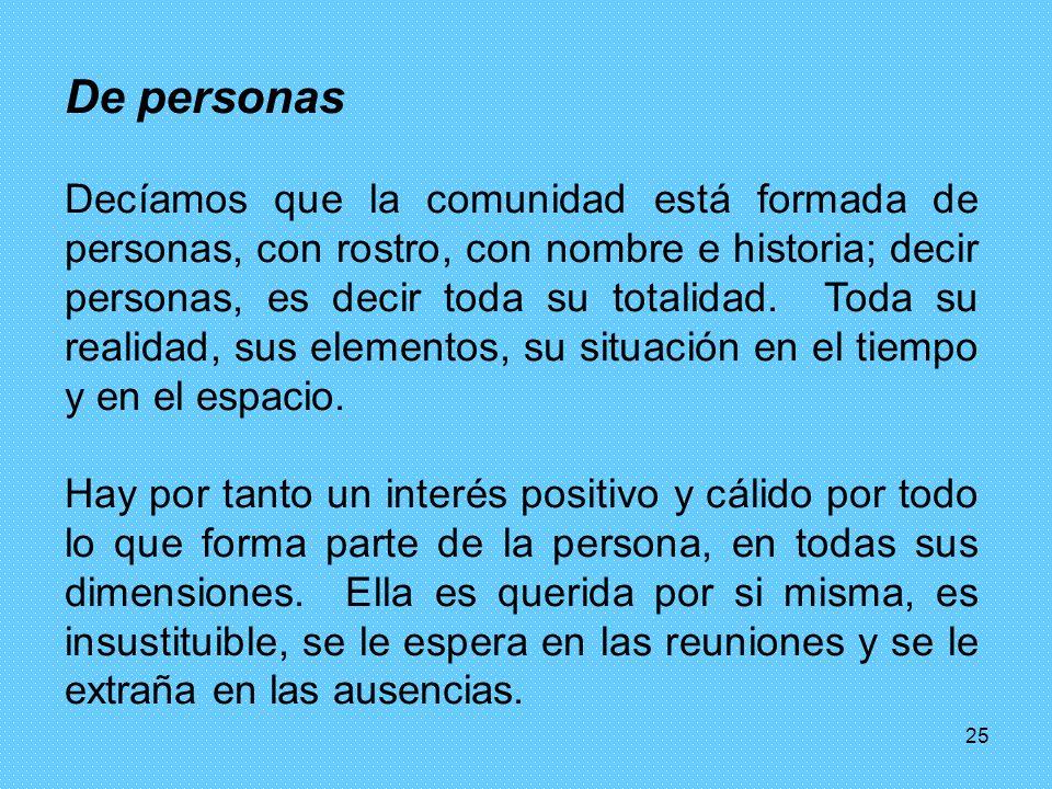 De personas